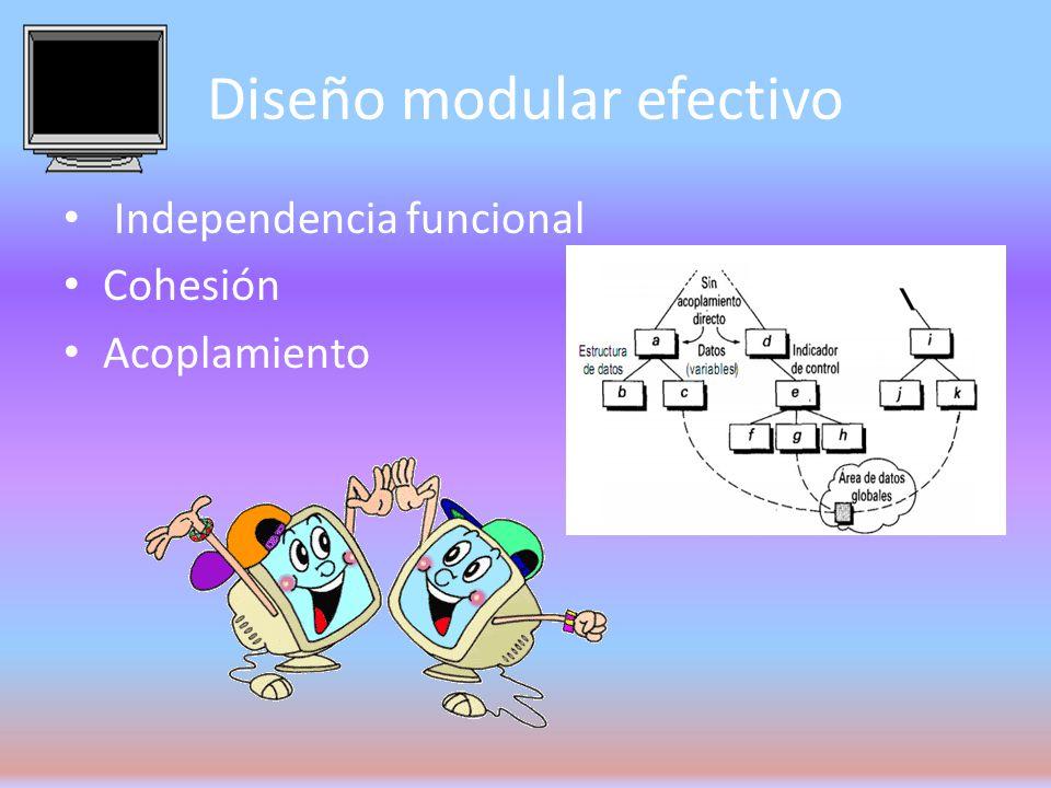 Diseño modular efectivo
