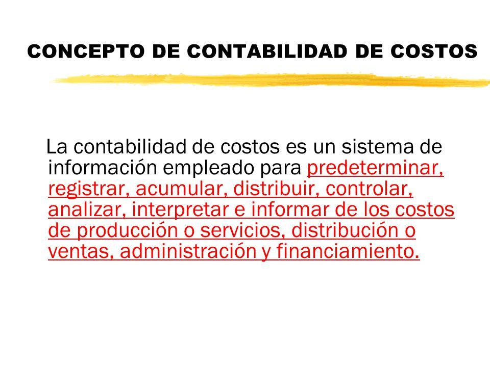 CONCEPTO DE CONTABILIDAD DE COSTOS