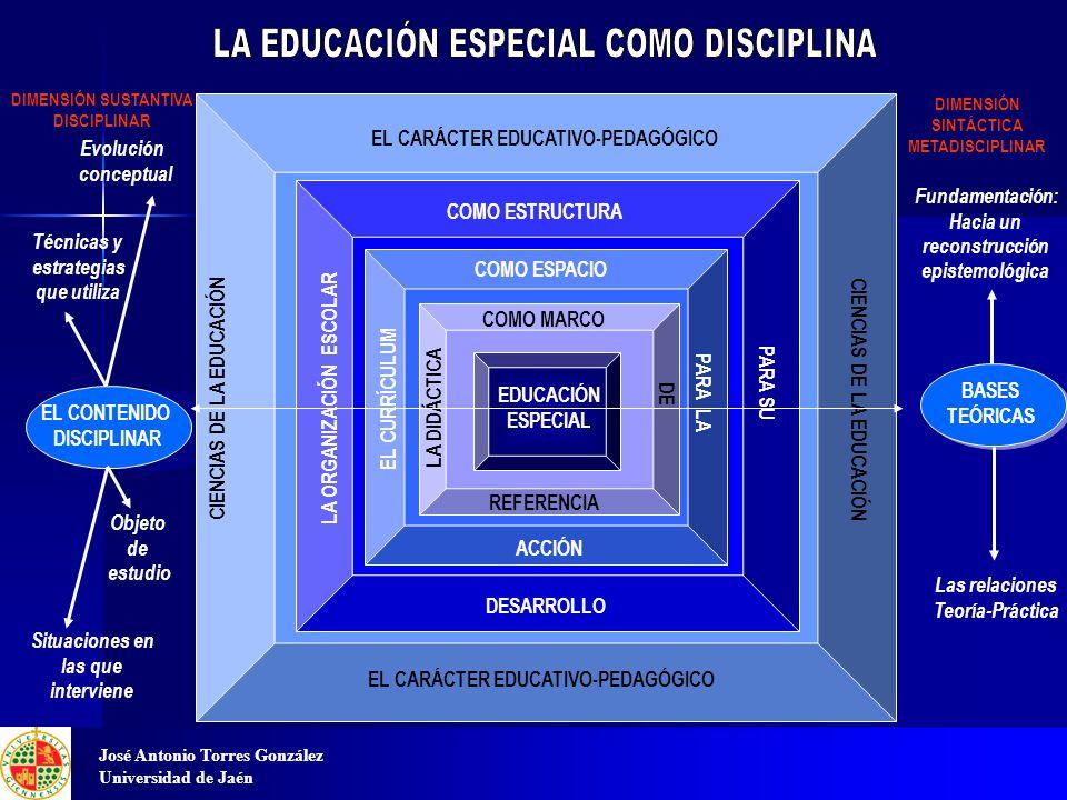 LA EDUCACIÓN ESPECIAL COMO DISCIPLINA