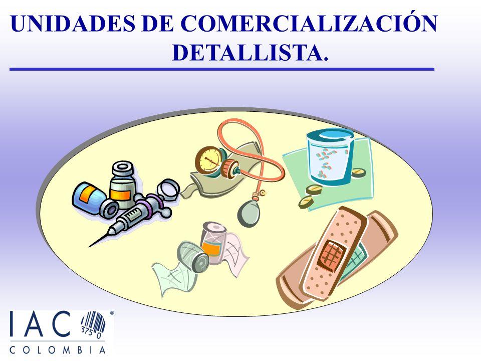 UNIDADES DE COMERCIALIZACIÓN