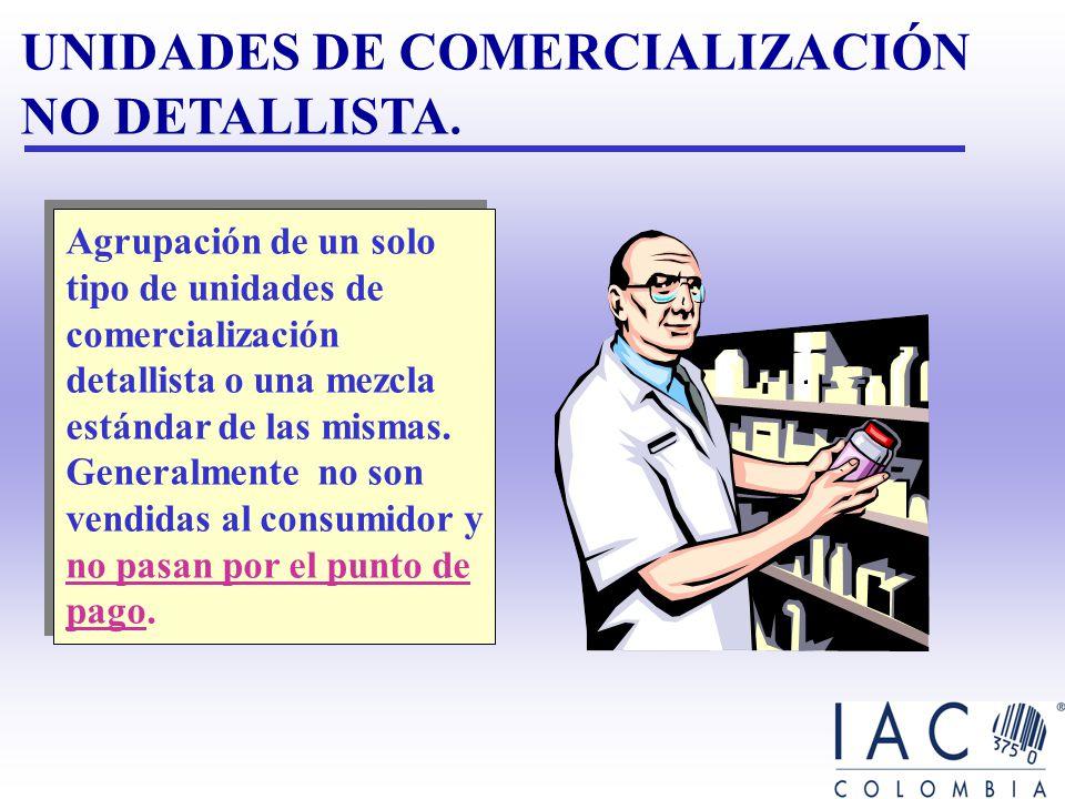 UNIDADES DE COMERCIALIZACIÓN NO DETALLISTA.