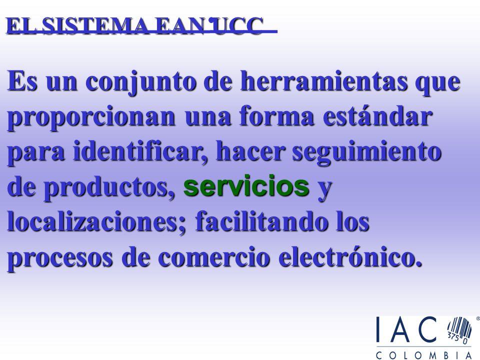 Es un conjunto de herramientas que proporcionan una forma estándar para identificar, hacer seguimiento de productos, servicios y localizaciones; facilitando los procesos de comercio electrónico.
