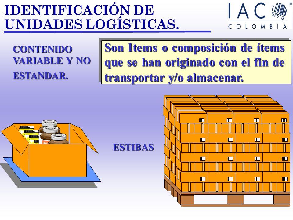 IDENTIFICACIÓN DE UNIDADES LOGÍSTICAS.