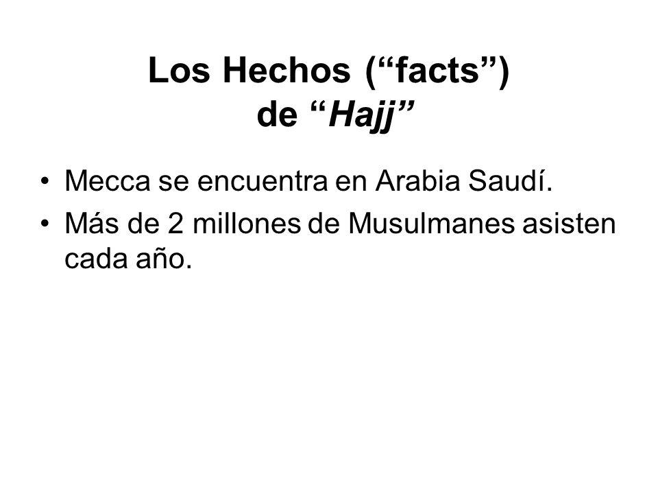 Los Hechos ( facts ) de Hajj