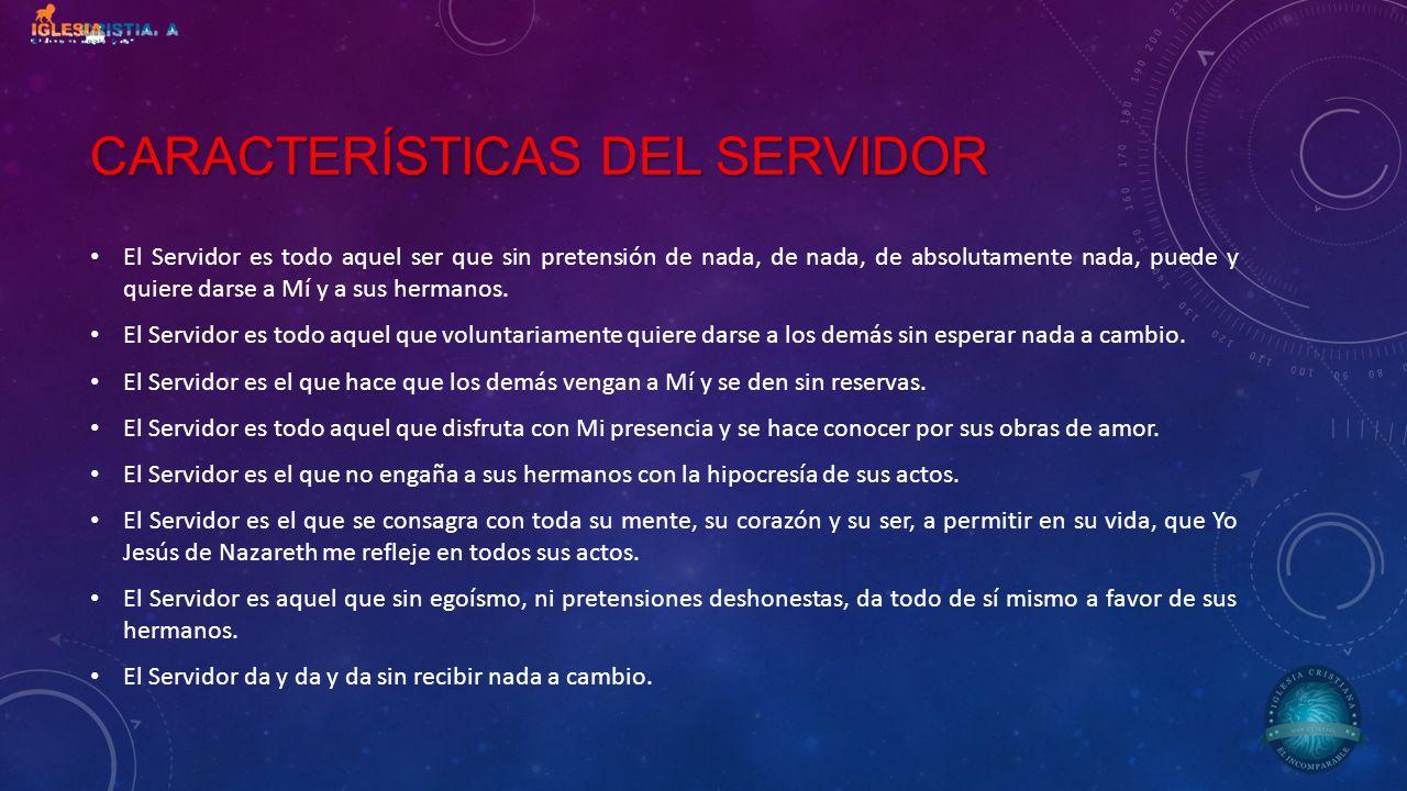 Características del servidor