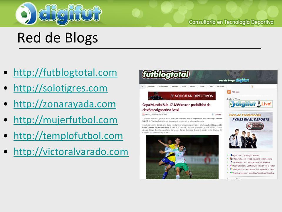 Red de Blogs http://futblogtotal.com http://solotigres.com