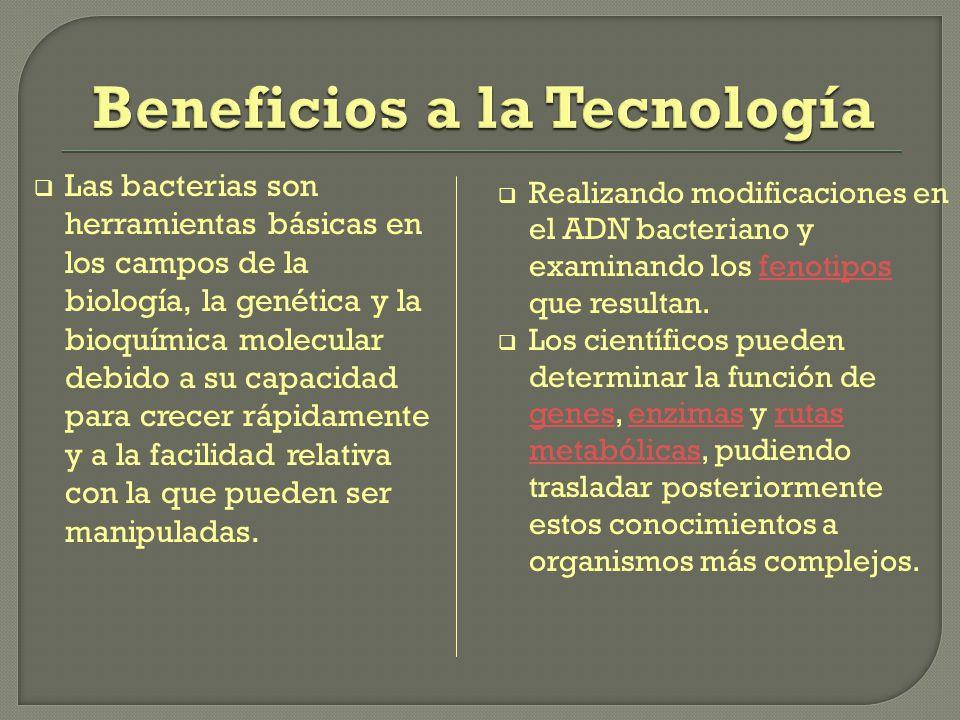 Beneficios a la Tecnología