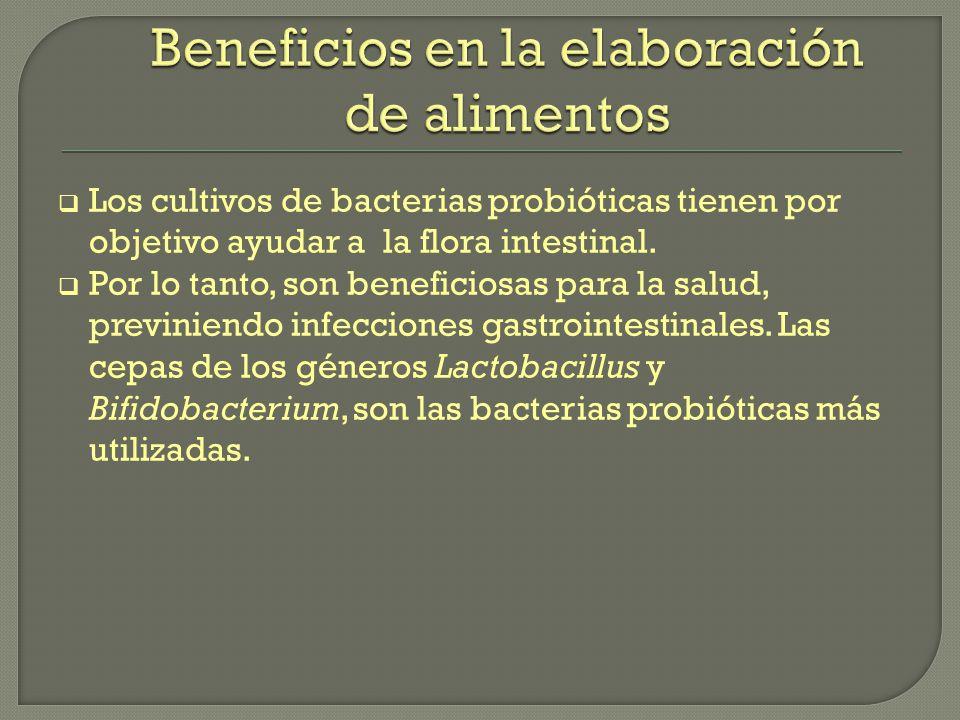 Beneficios en la elaboración de alimentos