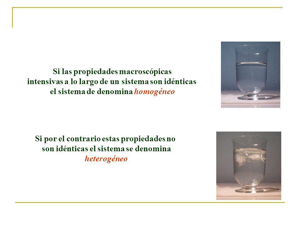 Si las propiedades macroscópicas
