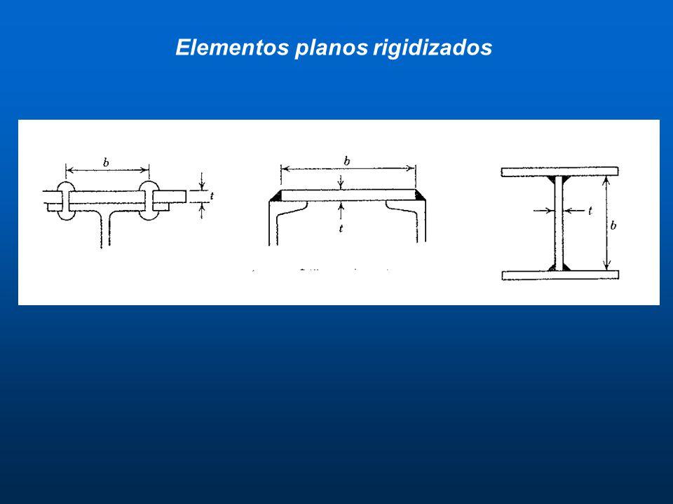Elementos planos rigidizados