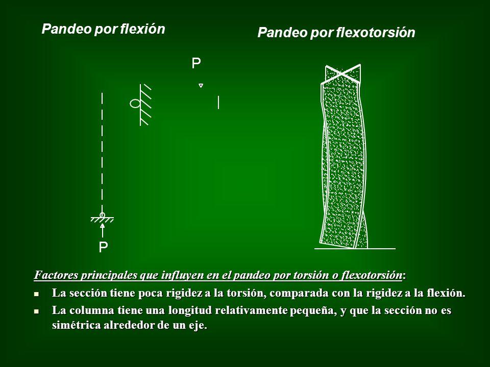 Pandeo por flexotorsión