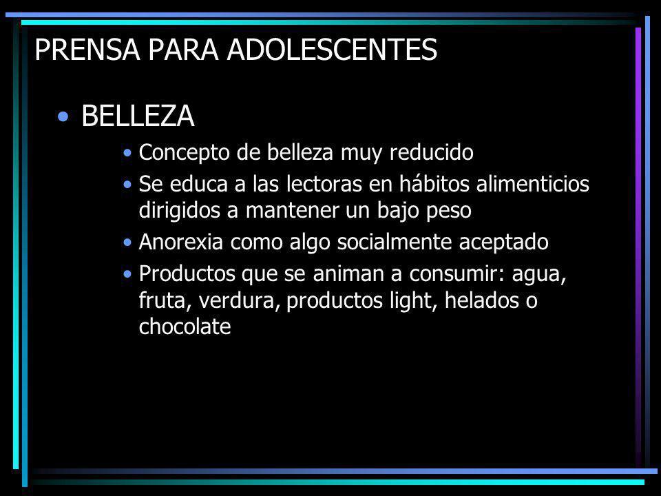 PRENSA PARA ADOLESCENTES