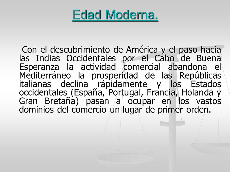 Edad Moderna.