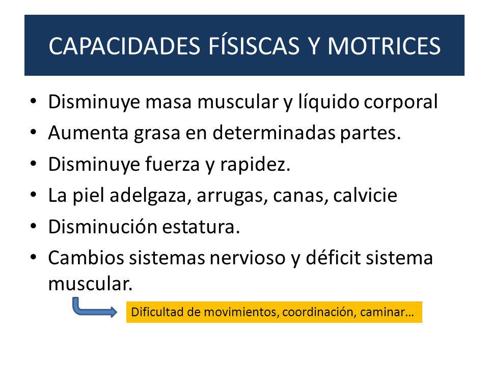 CAPACIDADES FÍSISCAS Y MOTRICES