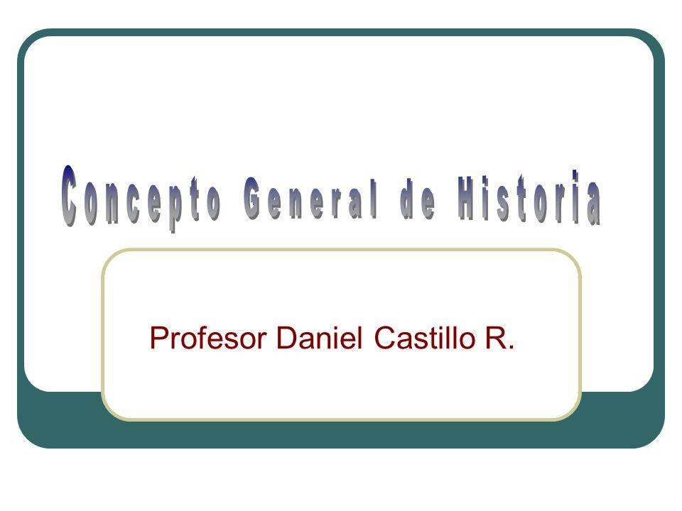 Profesor Daniel Castillo R.