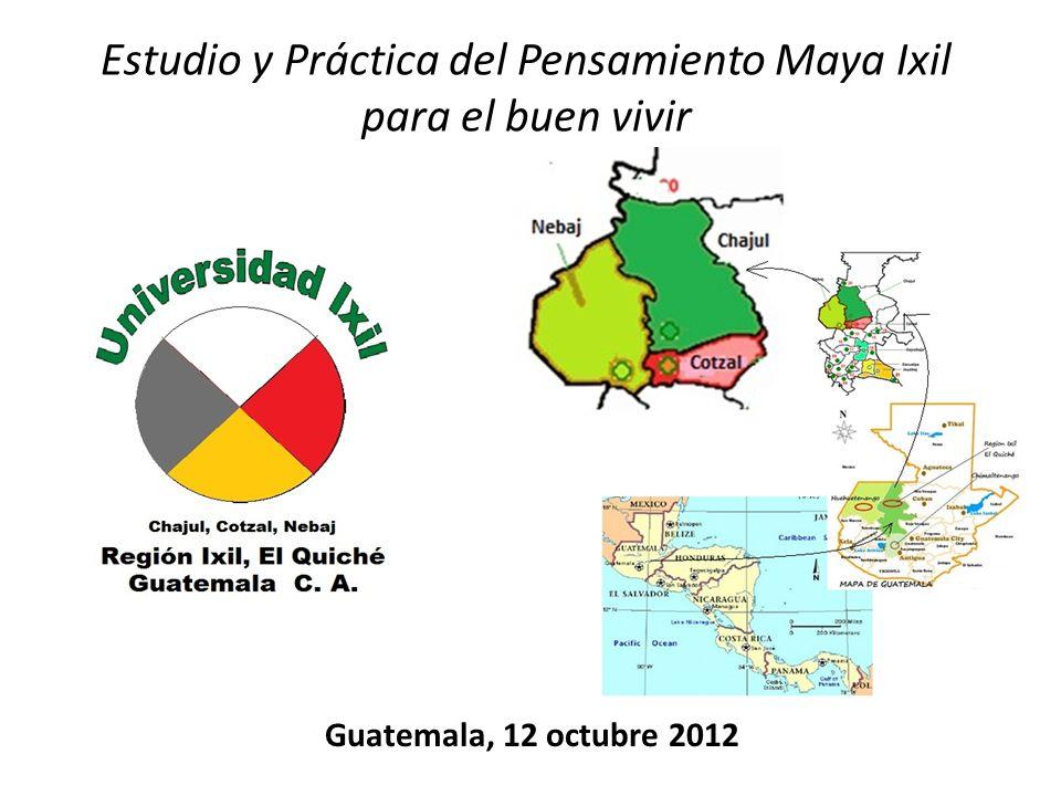 Estudio y Práctica del Pensamiento Maya Ixil