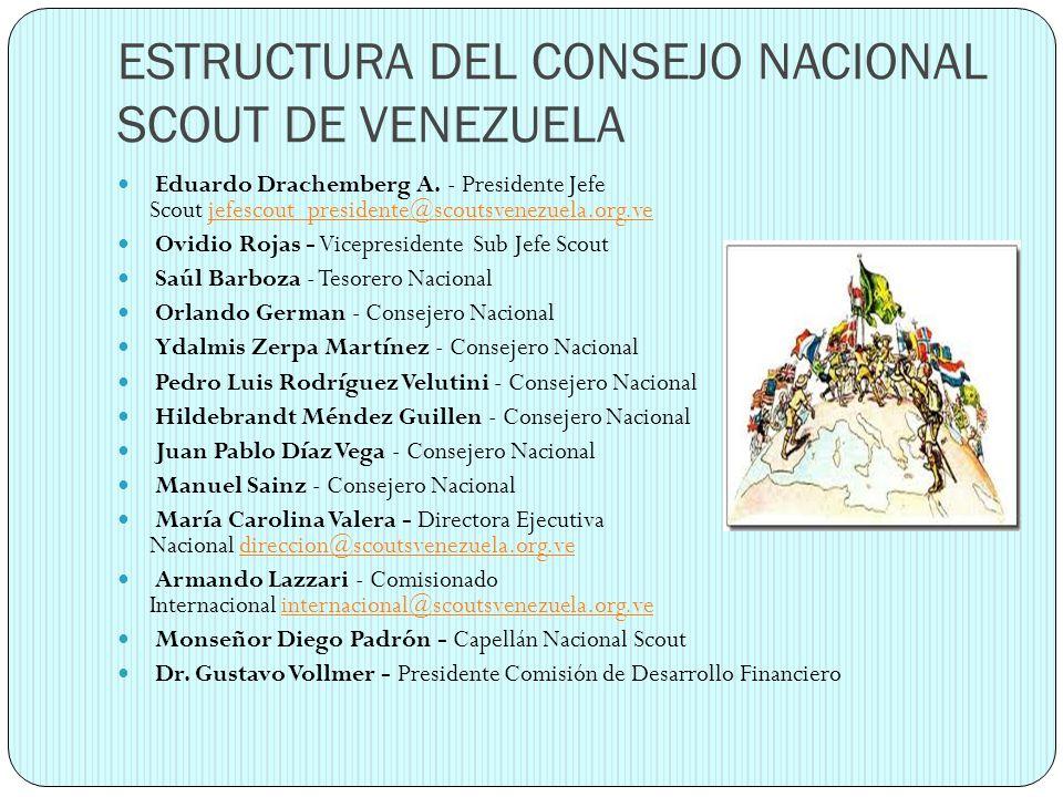 ESTRUCTURA DEL CONSEJO NACIONAL SCOUT DE VENEZUELA