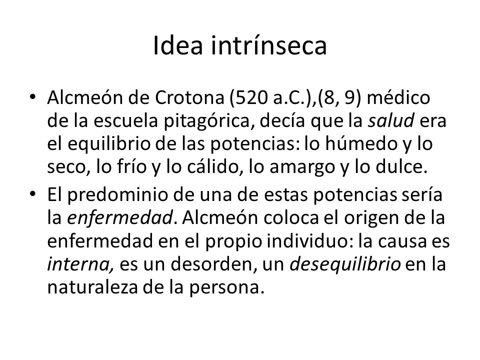 Idea intrínseca