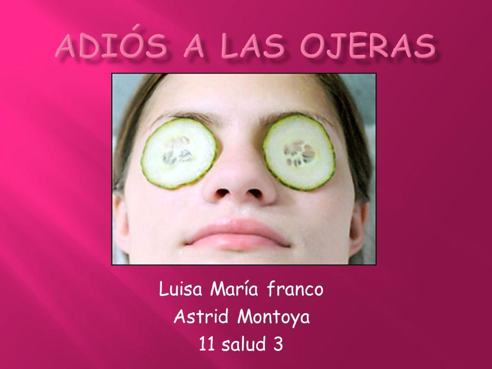 Luisa María franco Astrid Montoya 11 salud 3