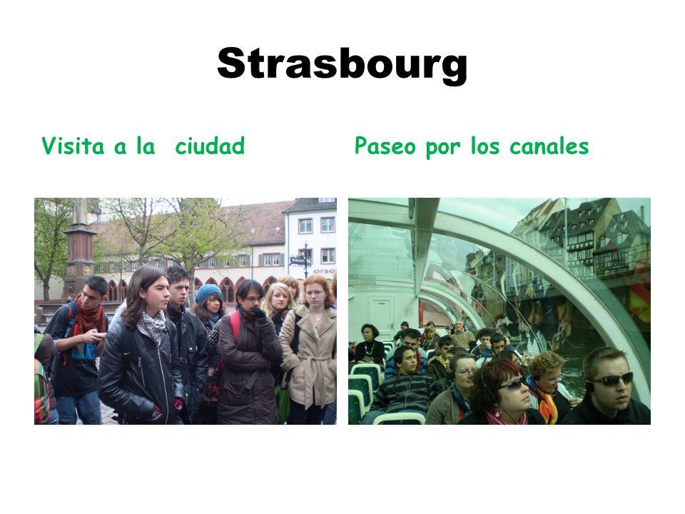 Strasbourg Visita a la ciudad Paseo por los canales