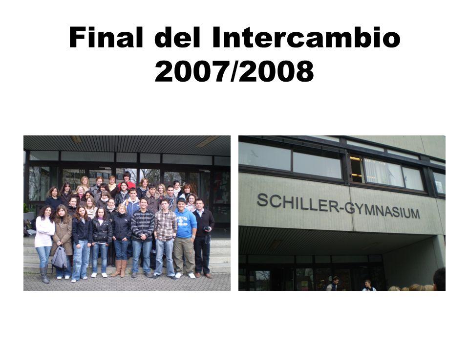 Final del Intercambio 2007/2008
