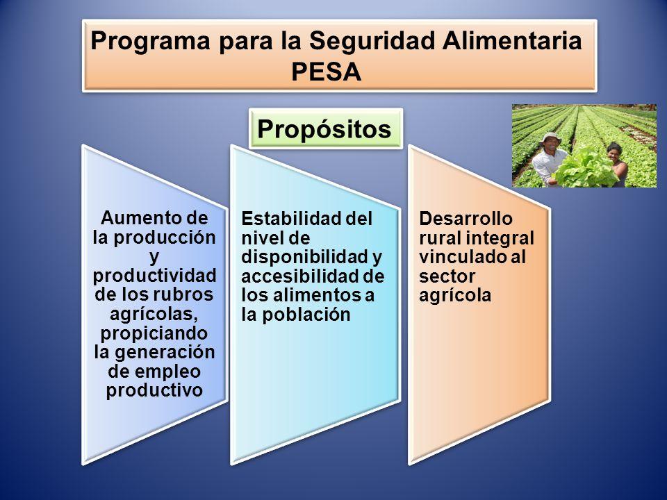 Programa para la Seguridad Alimentaria PESA