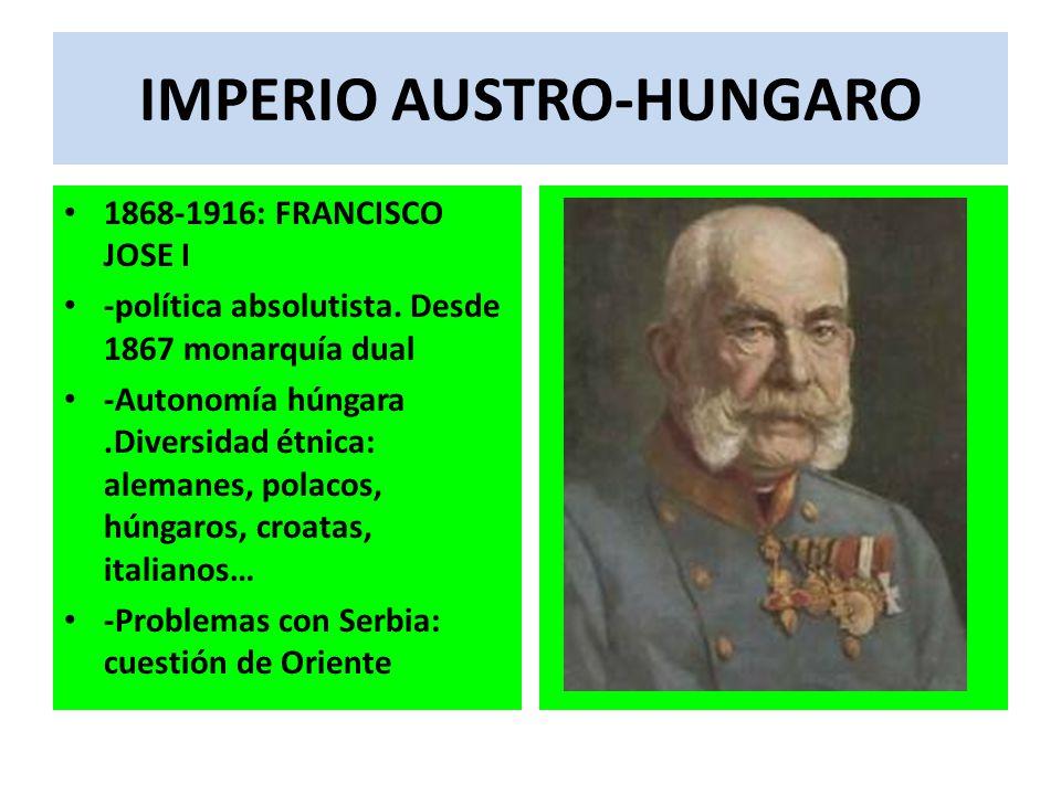 IMPERIO AUSTRO-HUNGARO