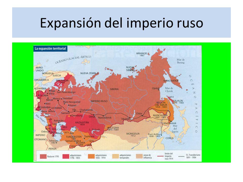 Expansión del imperio ruso