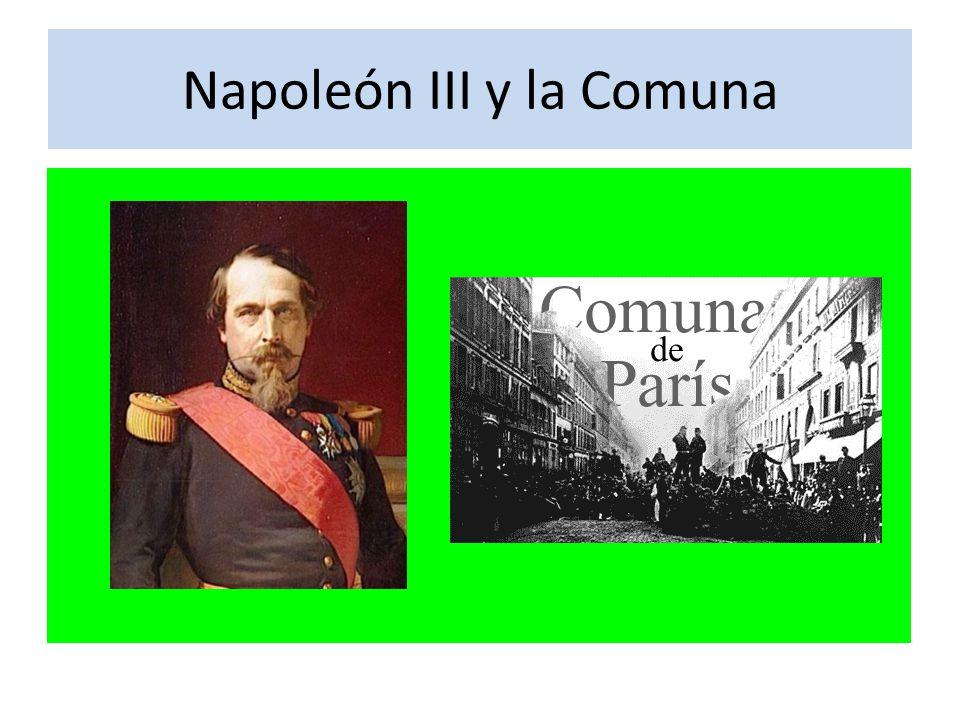 Napoleón III y la Comuna