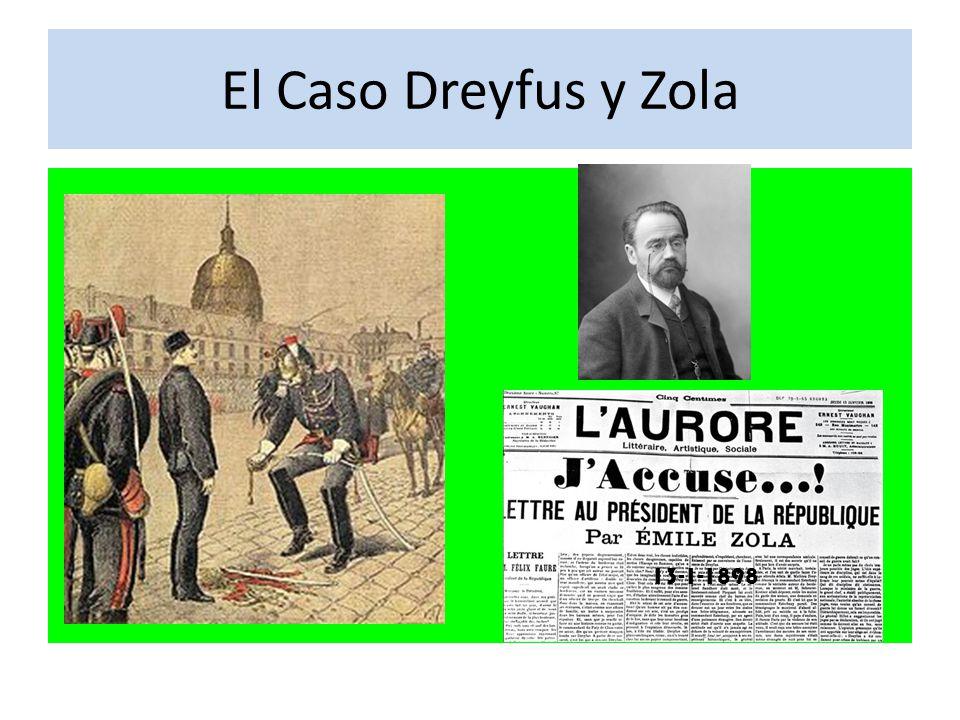 El Caso Dreyfus y Zola 13-1-1898