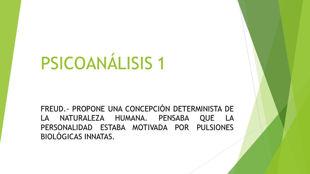 PSICOANÁLISIS 1
