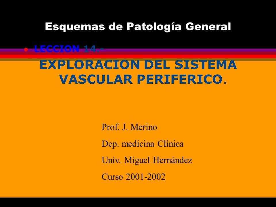 Esquemas de Patología General
