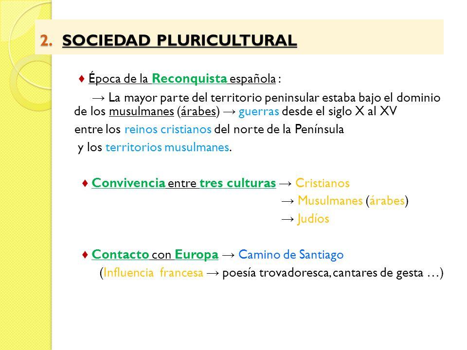 2. SOCIEDAD PLURICULTURAL