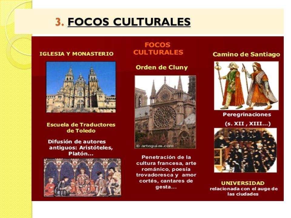 3. FOCOS CULTURALES