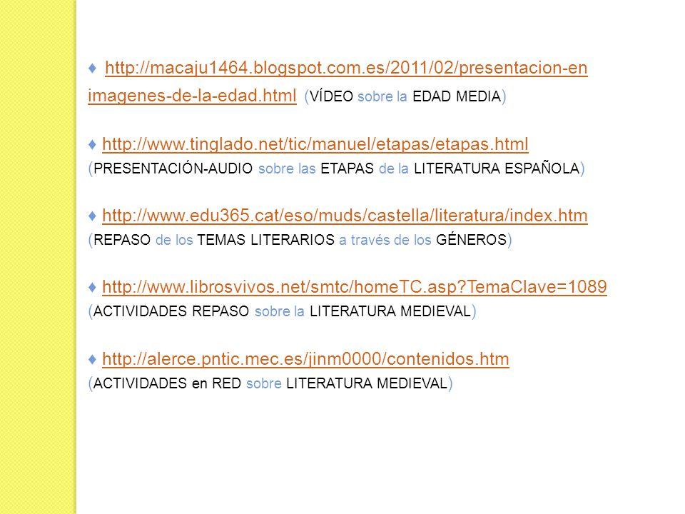 ♦ http://macaju1464.blogspot.com.es/2011/02/presentacion-en