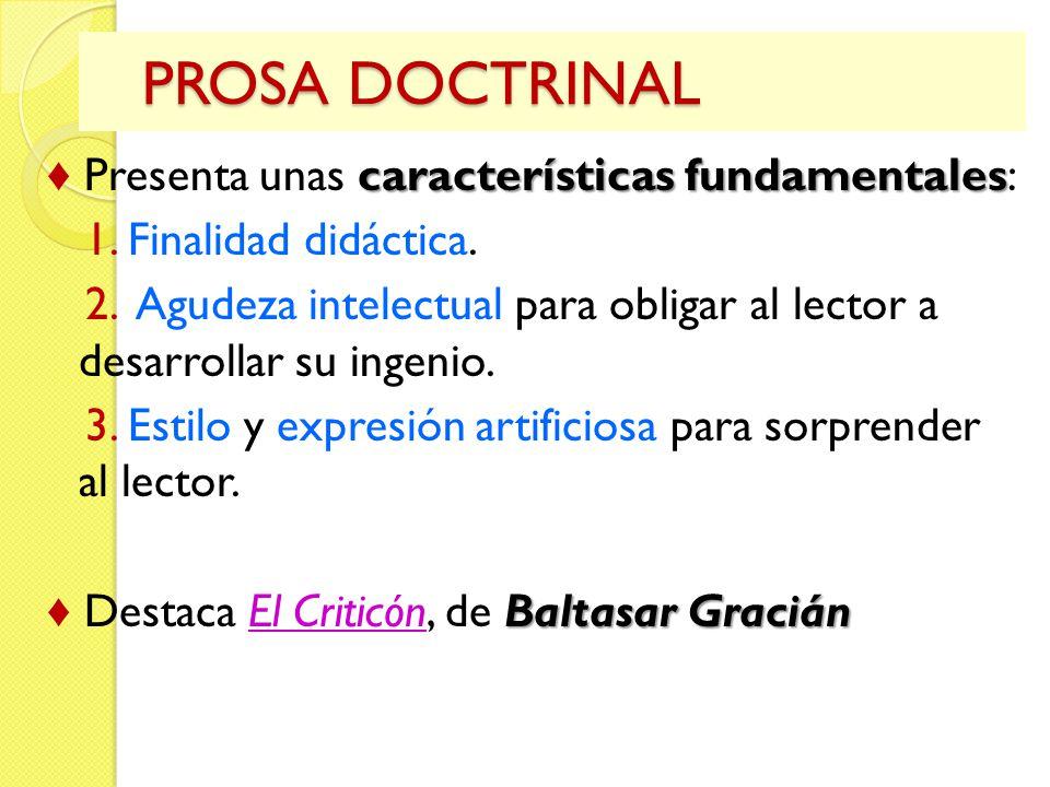 PROSA DOCTRINAL