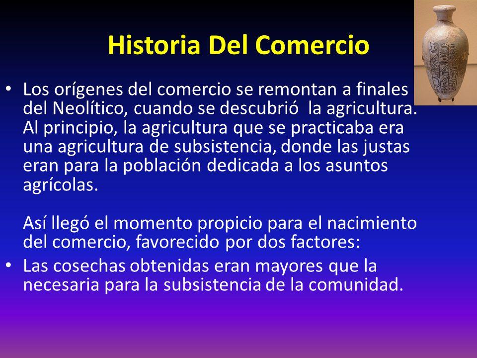 Historia Del Comercio