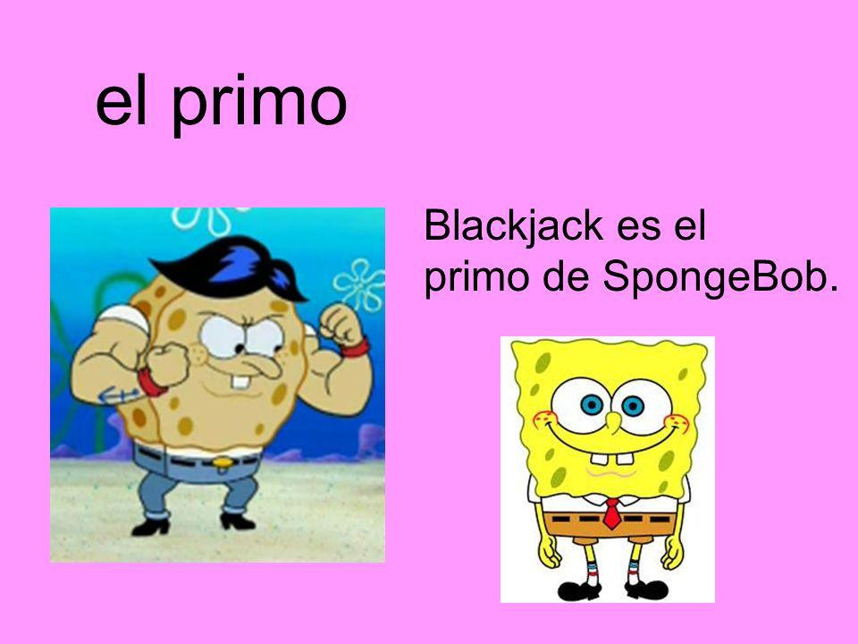el primo Blackjack es el primo de SpongeBob.