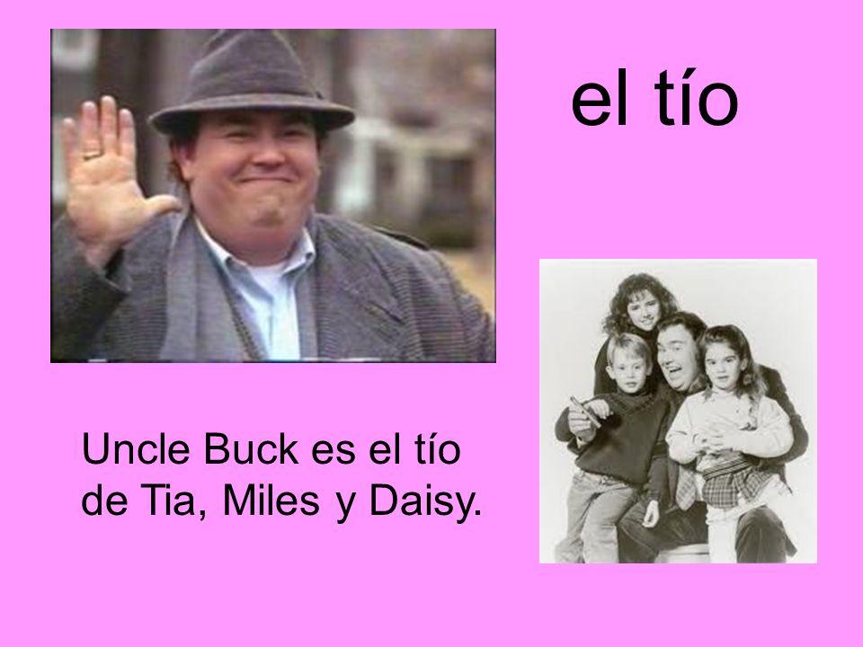 el tío Uncle Buck es el tío de Tia, Miles y Daisy.