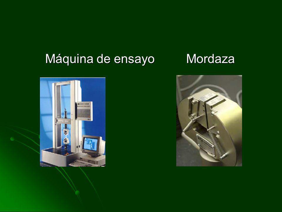 Máquina de ensayo Mordaza