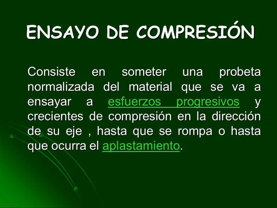 ENSAYO DE COMPRESIÓN