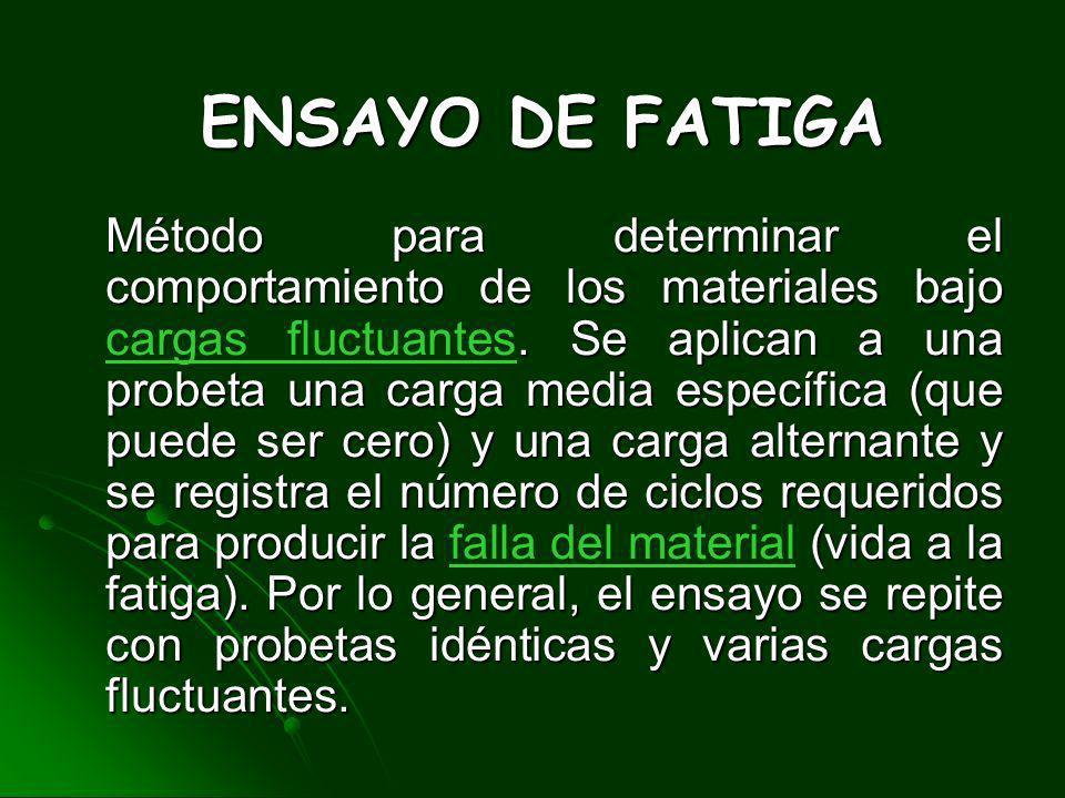 ENSAYO DE FATIGA