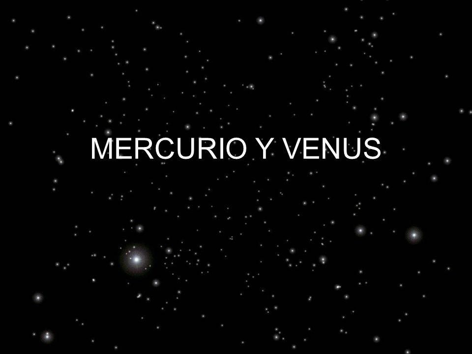 MERCURIO Y VENUS