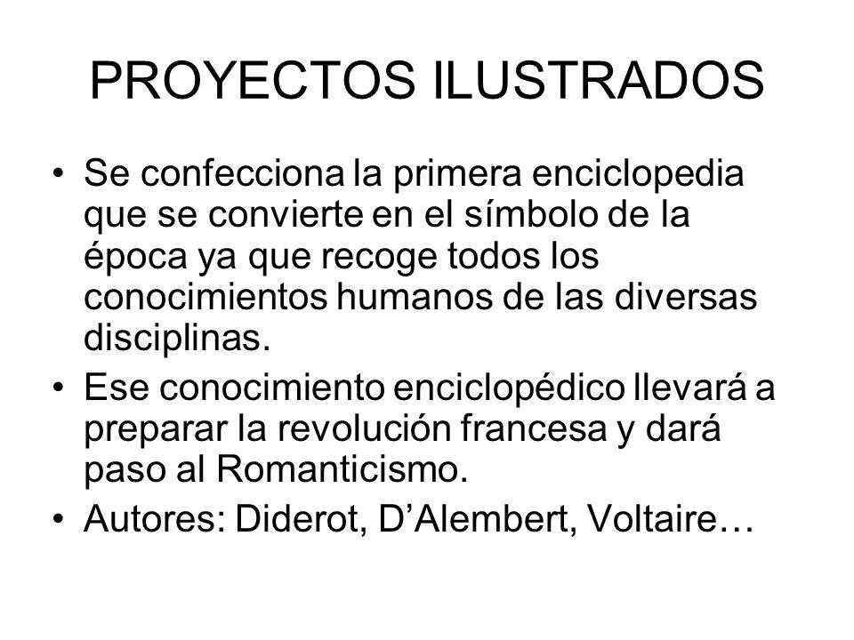 PROYECTOS ILUSTRADOS