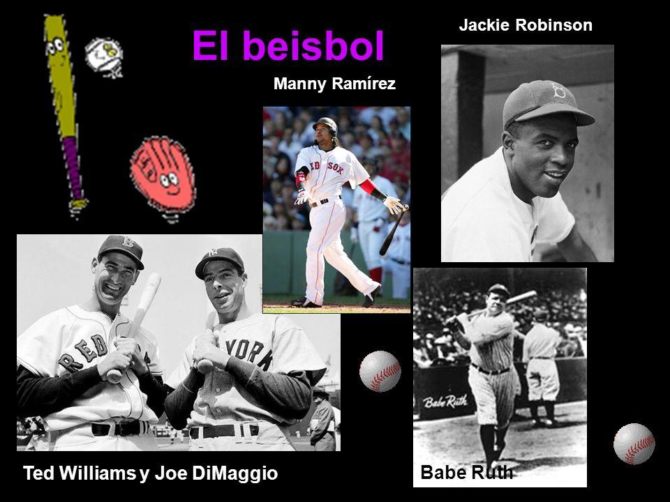 El beisbol Willie Mayes Ted Williams y Joe DiMaggio Babe Ruth