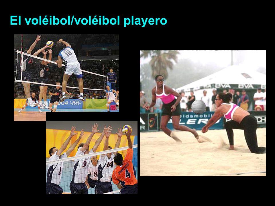 El voléibol/voléibol playero