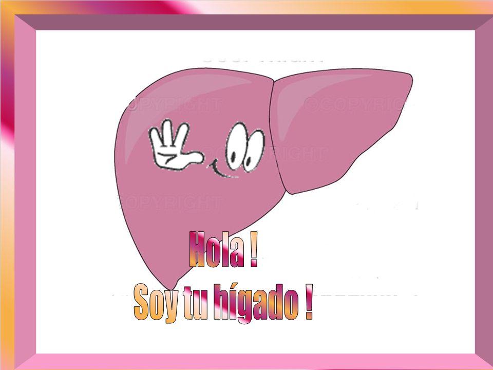 Hola ! Soy tu hígado !