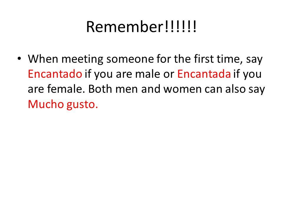 Remember!!!!!!