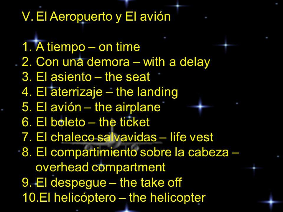 El Aeropuerto y El avión