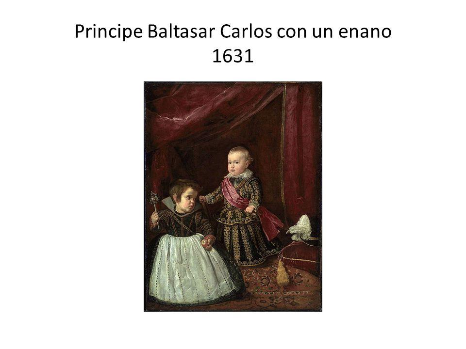 Principe Baltasar Carlos con un enano 1631